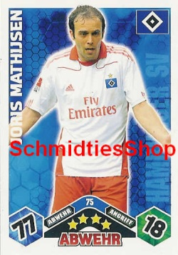 Hamburger SV 075 Joris Mathijsen
