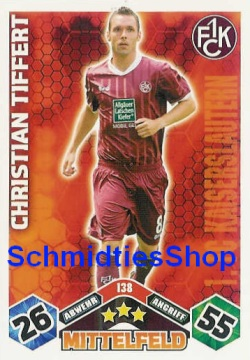 1.FC Kaiserslautern 138 Christian Tiffert