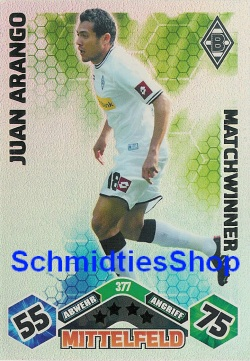 Match Attax 10//11-365-Alexander Bugera-Matchwinner