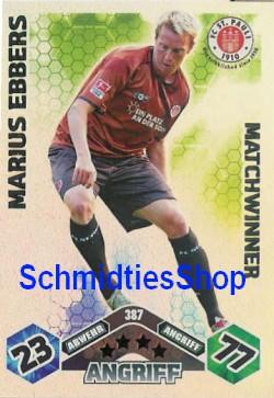 GERALD ASAMOAH Matchwinner Match Attax 10//11-386