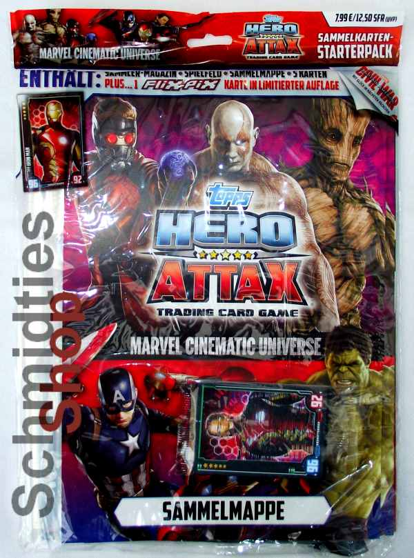 Hero Attax Marvel Cinematic Universe - Starterpack 2016