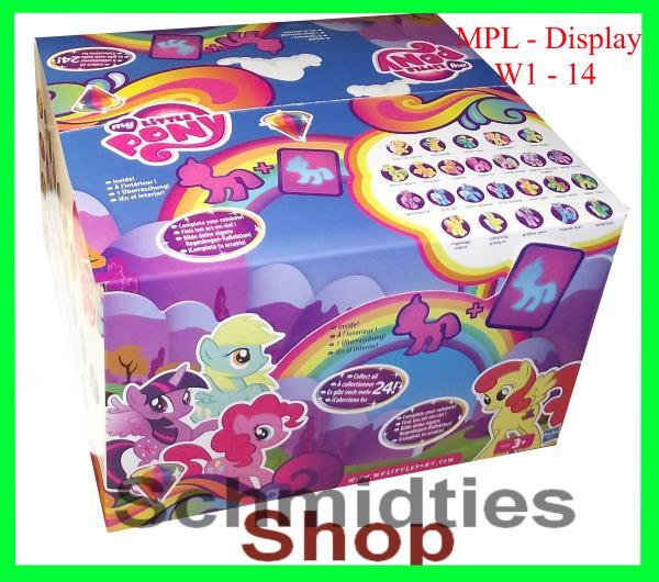 My Little Pony - 24er Display W1-14 (OVP)