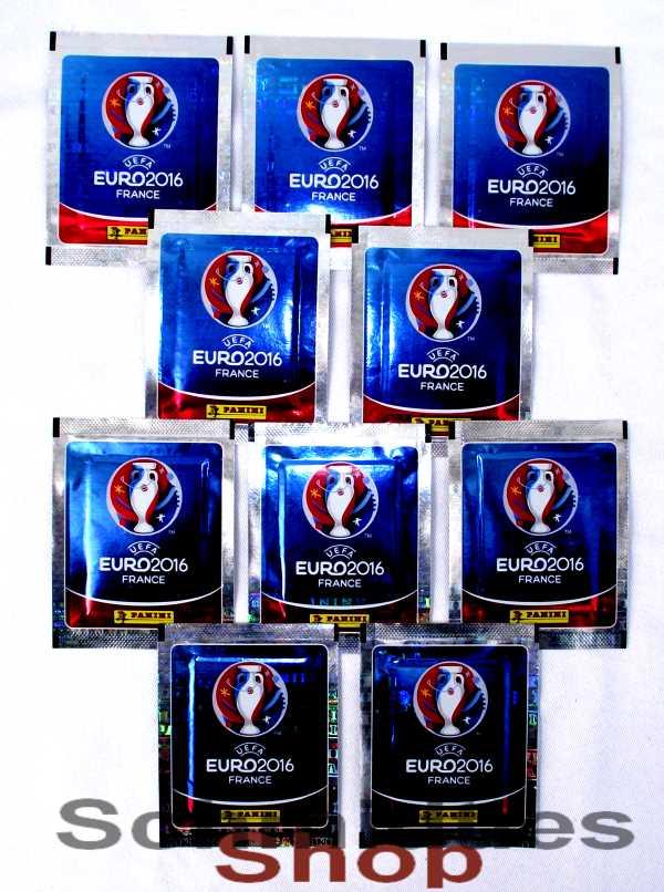 PANINI - UEFA EURO 2016 - 10 Booster Tüten
