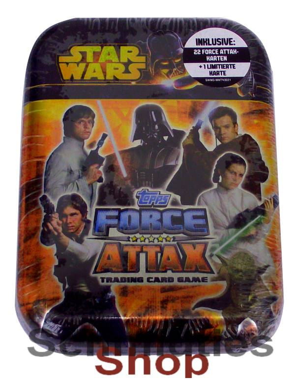 Topps Star Wars - Force Attax Serie 3 - Mini Tin Box