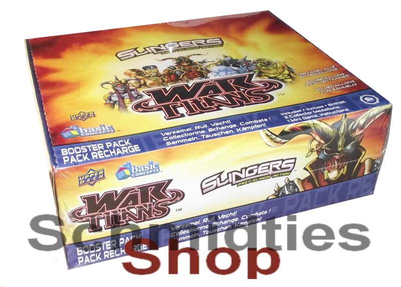 Slingers - War Titans - Display 24 Booster (Tüten)
