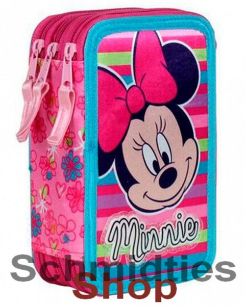 ®Disney Minnie Triple Federmappe - 43 Teilig (OVP)