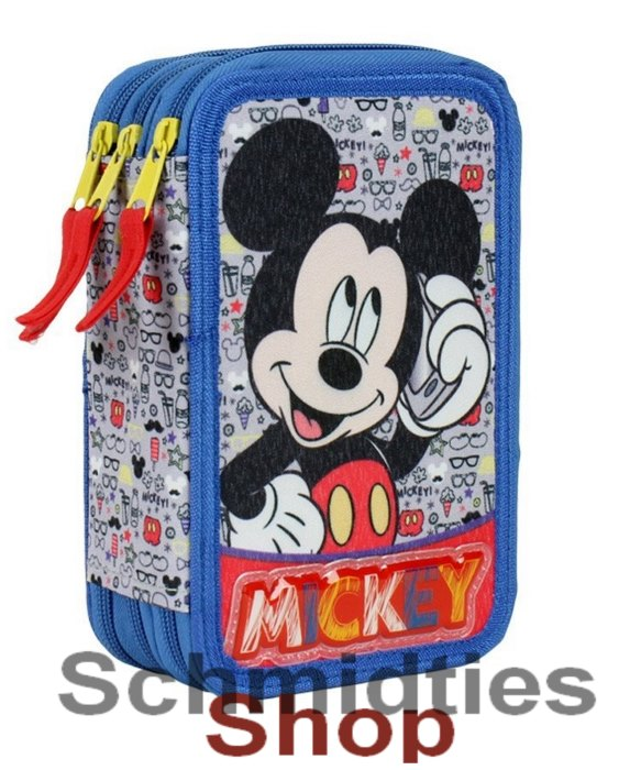 ®Disney Mickey Triple Federmappe - 43 Teilig (OVP)