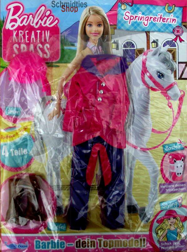 Barbie® Kreativ Spass - Ausgabe Springreiterin Nr. 27