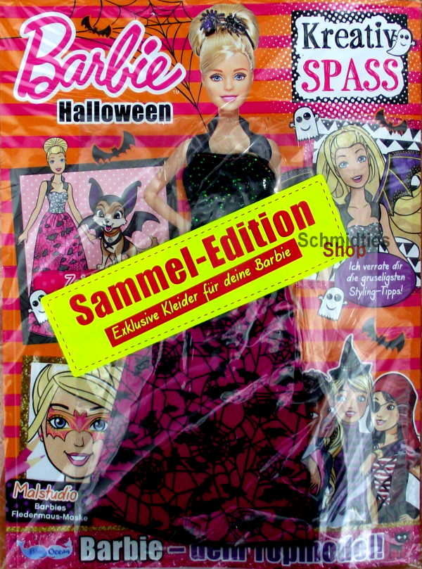 Barbie® Kreativ Spass - Ausgabe Halloween Nr. 04