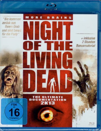 Night of the Living Dead - the ultimate Doku. 2K13 (Blu-Ray)NEU