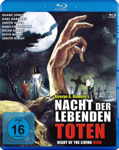 Nacht der Lebenden Toten/Night of the Living Dead (Blu-Ray) (NEU