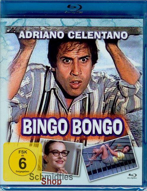 Bingo Bongo mit Adriano Celentano (Blu-Ray) (NEU & OVP)