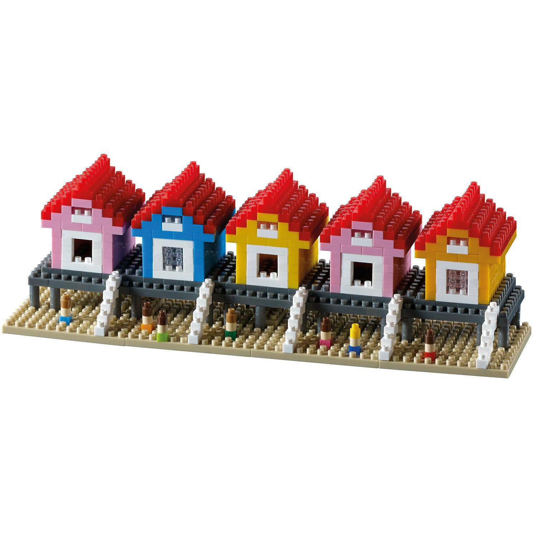 Brixies Strandhäuser - Modelbausatz