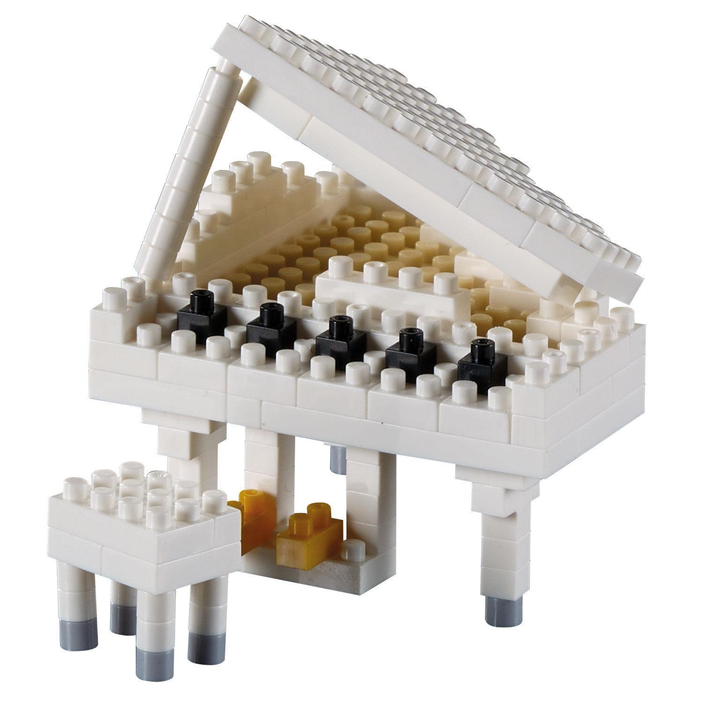Brixies Klavier Weiß - Modelbausatz