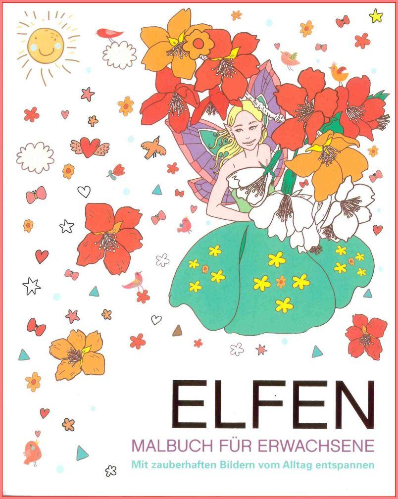 Elfen - Malbuch für Erwachsene