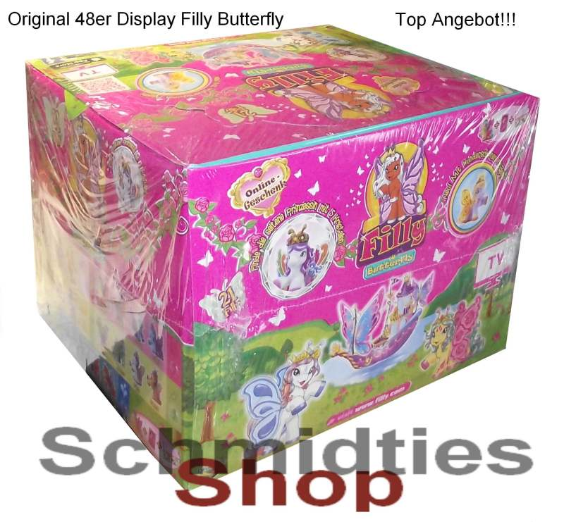 Filly Butterfly - Display mit 48 Booster (OVP) (Sonderpreis)
