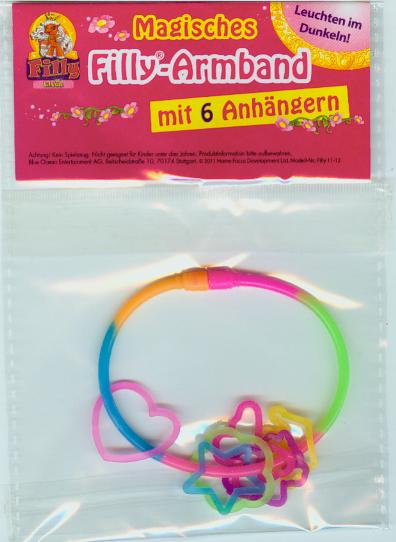 Filly Elves - Magisches Filly Armband mit 6 Anhänger