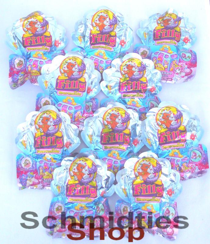 Filly Mermaids Glitter Edition 2014 - 10 Booster Tüten NEU/OVP