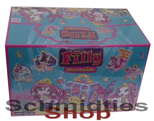 Filly Mermaids Super Glitzer 2016 - Display mit 48 Booster