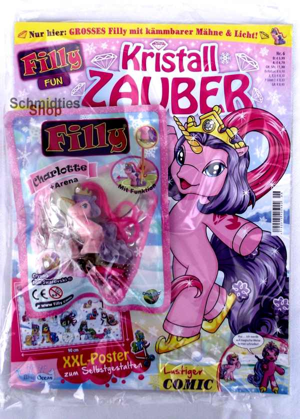 Filly Fun Magazin - Kristall Zauber Nr.6 (OVP) 2016