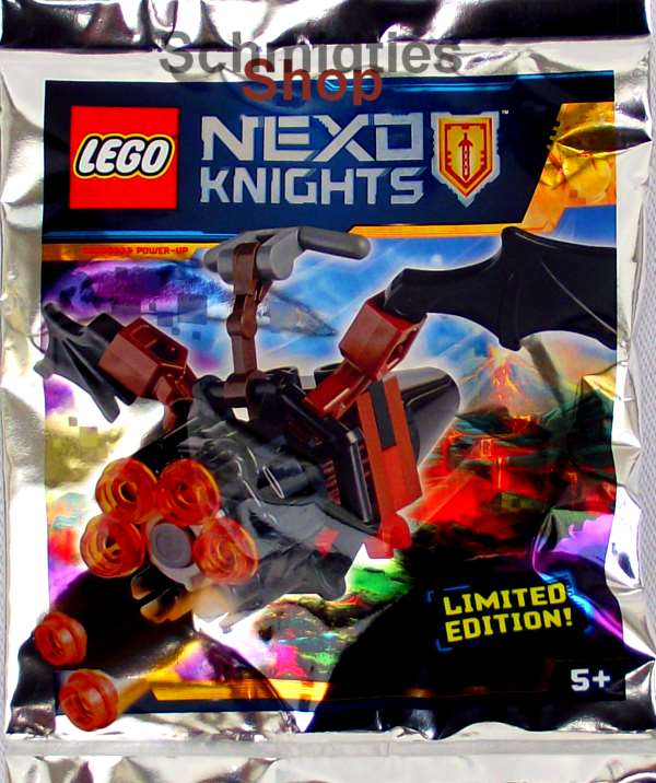 LEGO® Nexo Knights™ - Fledermaus Flitzer & Lava Munition