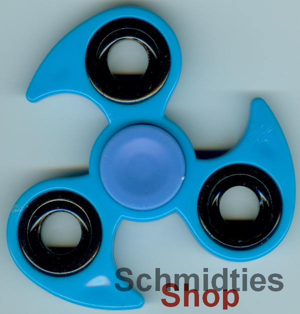 Fidget Spinner - Finger Kreisell - Model 06 - Blau