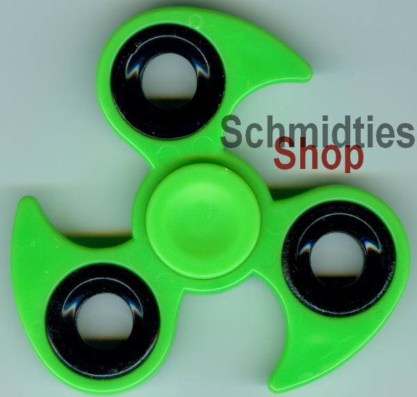 Fidget Spinner - Finger Kreisel - Model 05 - Grün