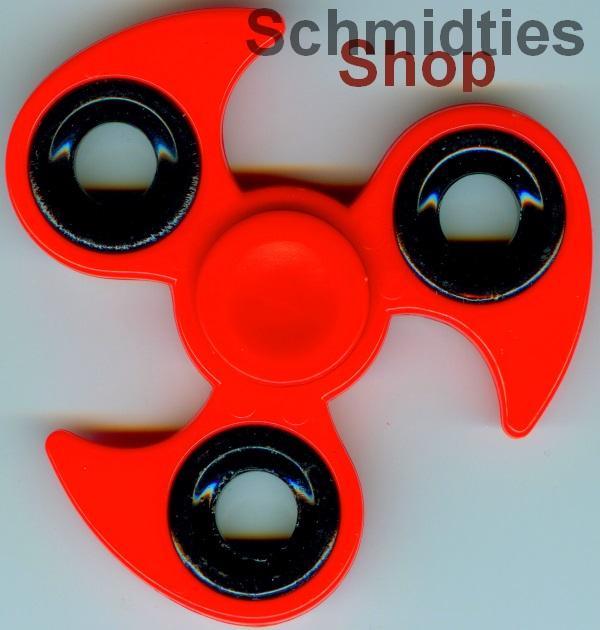 Fidget Spinner - Finger Kreisel - Model 02 - Rot