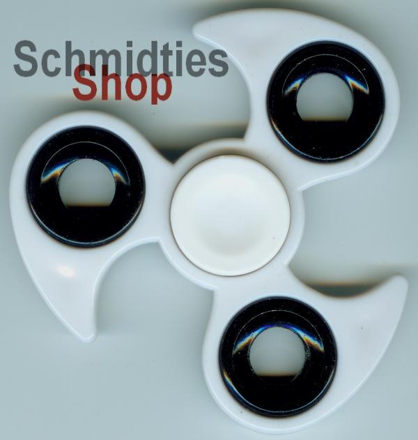 Fidget Spinner - Finger Kreisel - Model 04 - Weiss