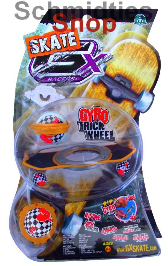 GX Skate Racers Gyro Trick Wheel Skateboard - Modell 02