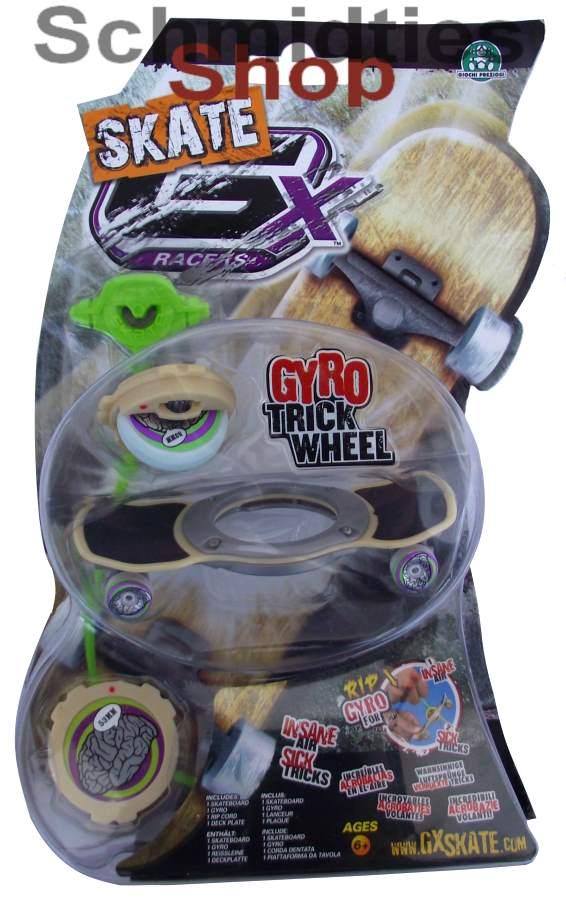 GX Skate Racers Gyro Trick Wheel Skateboard - Modell 03