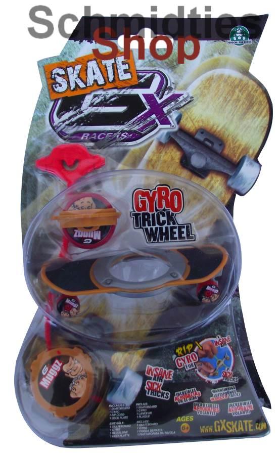 GX Skate Racers Gyro Trick Wheel Skateboard - Modell 04