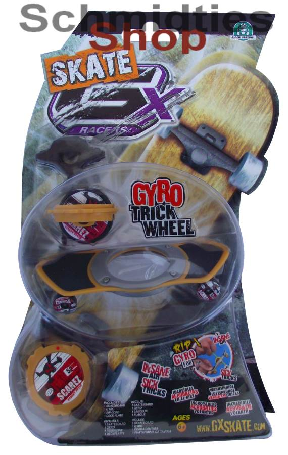 GX Skate Racers Gyro Trick Wheel Skateboard - Modell 05