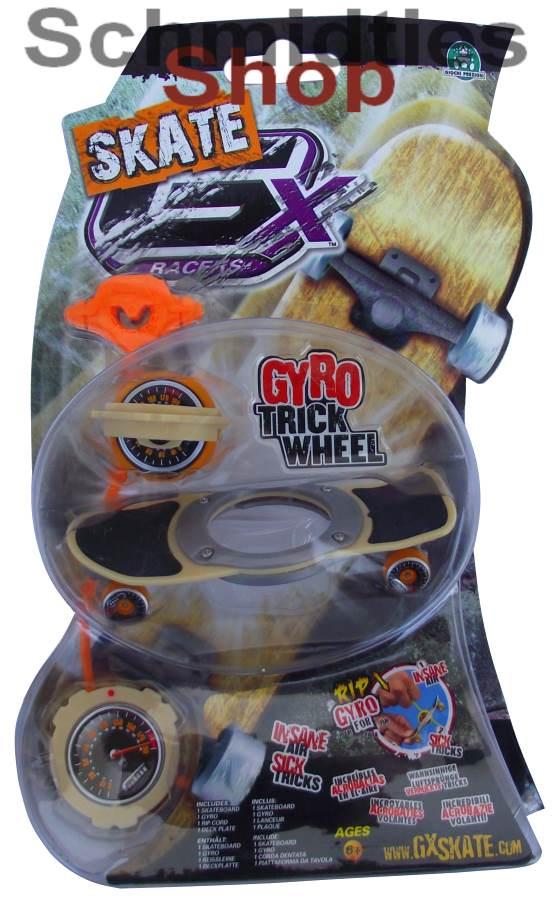 GX Skate Racers Gyro Trick Wheel Skateboard - Modell 06