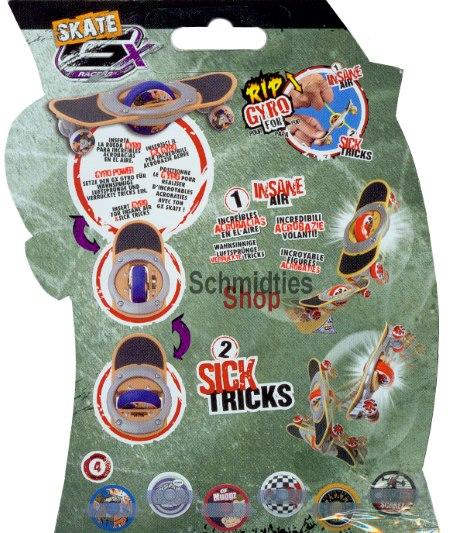 GX Skate Racers Gyro Trick Wheel Skateboard - Modell 01