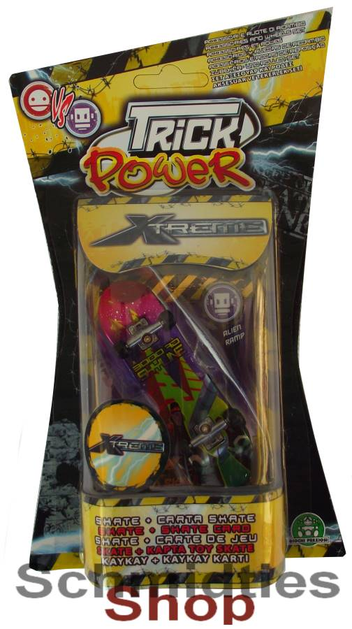 Finger Skateboard - Trick Power/Xtreme - Modell 03