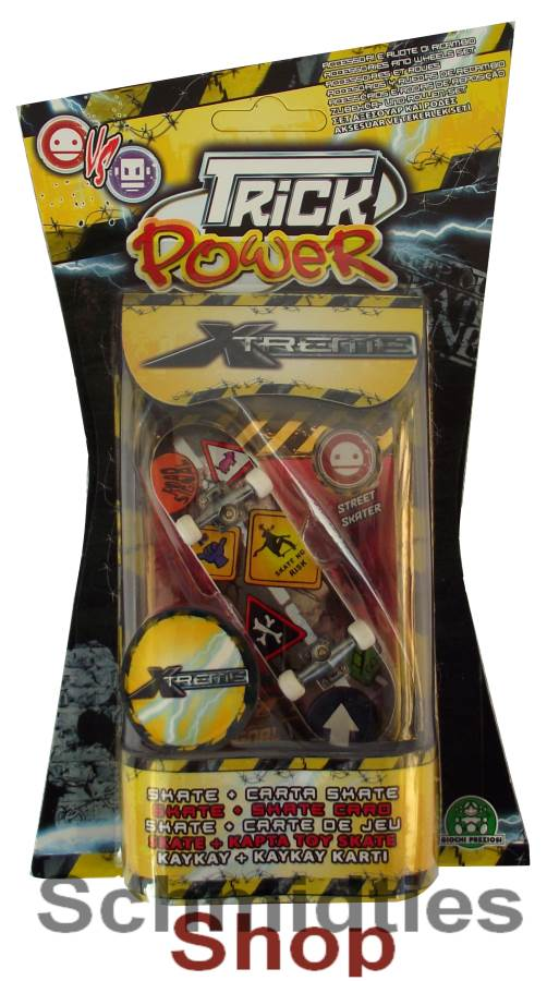 Finger Skateboard - Trick Power/Xtreme - Modell 05