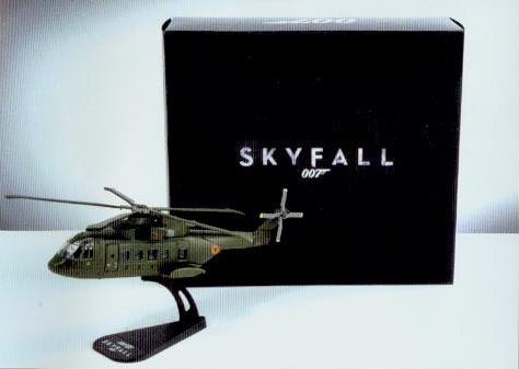 James Bond™ - Skyfall® - Hubschrauber AW101 (Limitierte Auflage)