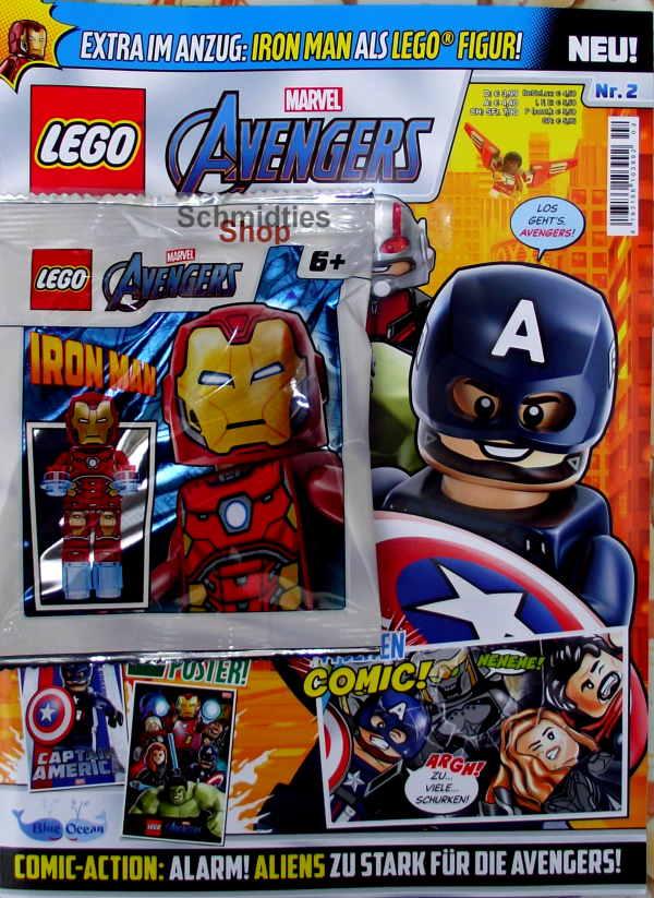LEGO® Marvel Avengers Magazin mit Zubehör Nr.02-20