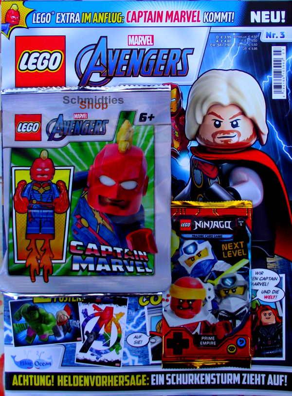 LEGO® Marvel Avengers Magazin mit Zubehör Nr.03-20