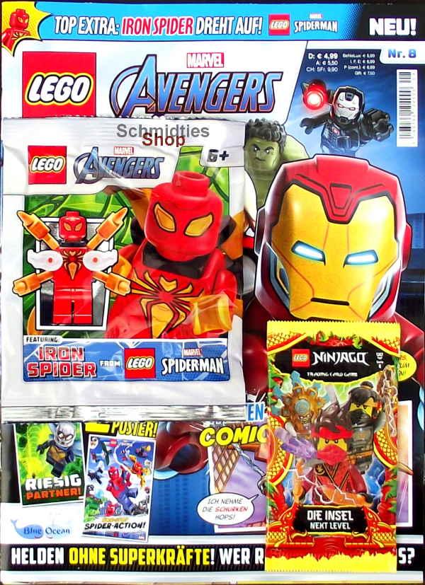 LEGO® Marvel Avengers Magazin mit Zubehör Nr.08-21