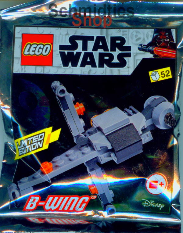 LEGO® Star Wars™ - B-Wing inkl. Bauplan