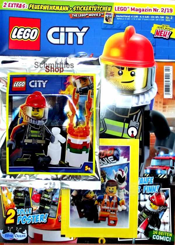 LEGO® City - Sonderausgabe Feuerwehrmann mit Fass Nr. 2-2019