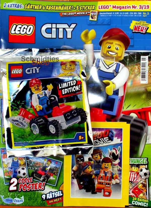 LEGO® City - Sonderausgabe Gärtner mit Rasenmäher Nr. 3-2019