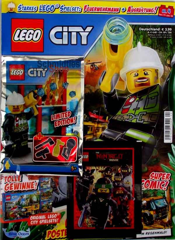 LEGO® City - Sonderausgabe mit 2 Figuren Nr.04/17 Nov-Jan 18
