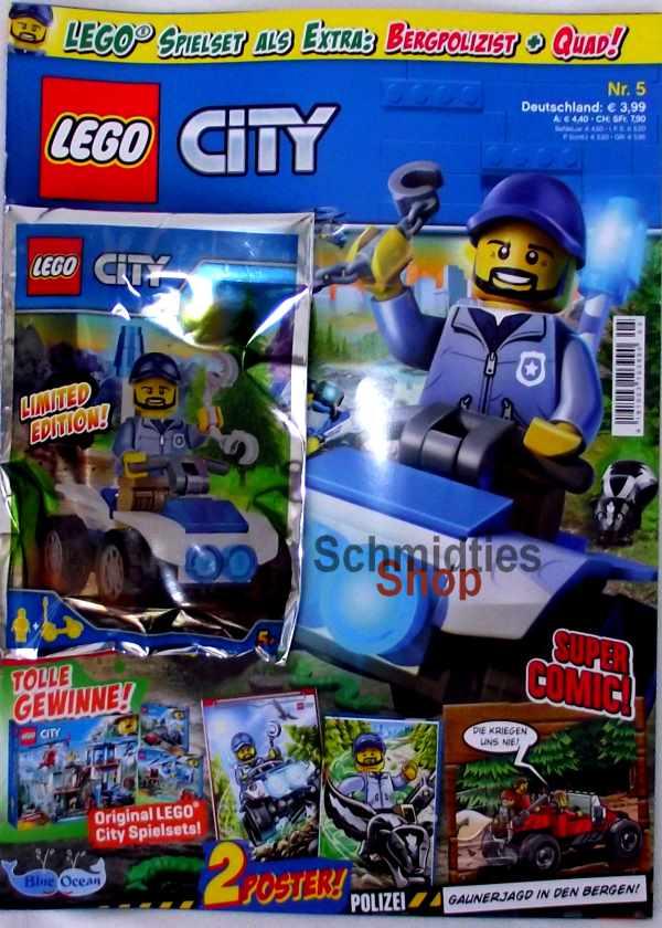 LEGO® City - Sonderausgabe mit Polizist & Qwad Nr.05/18