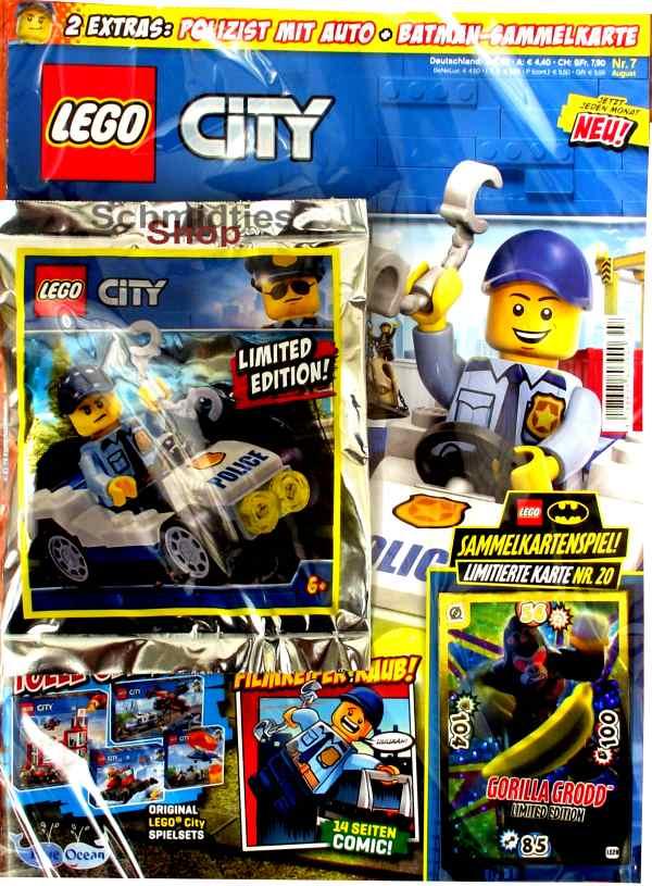 LEGO® City - mit Polizist mit Auto Nr.07-19