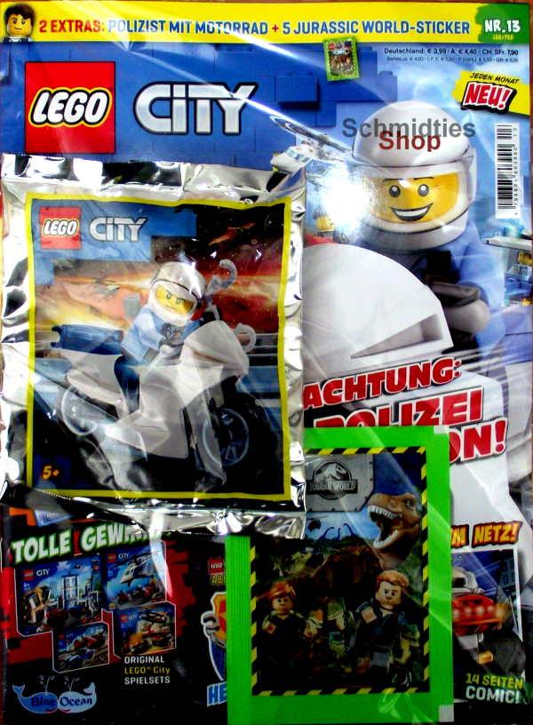 LEGO® City - mit Polizist auf Motorrad Nr.13-20