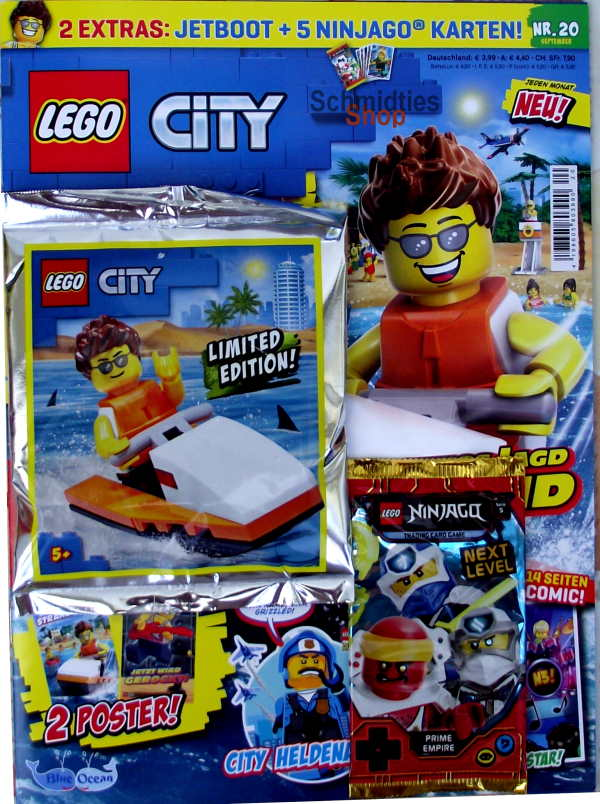 LEGO® City - mit Figur & Jetboot 3000 Nr.20-20