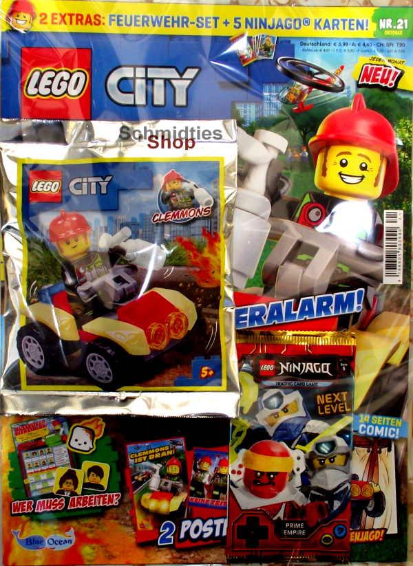 LEGO® City - mit Feuerwehr-Set Nr.21-20